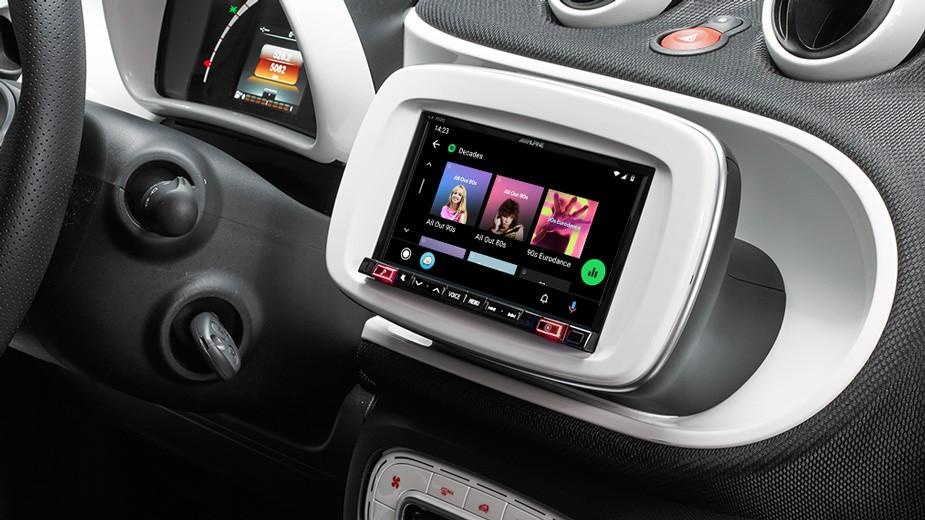 Alpine iLX-702D Navigation stereo upgrade Best Car Audio Nottingham Derby Alpine upgrade best headunit upgrade car Audio Upgrade