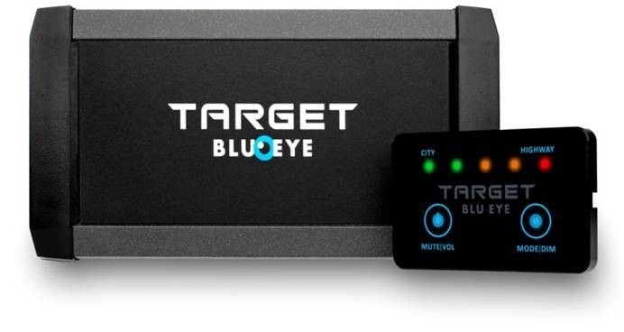 Designed for driver safety -Target BluEye is a new Tetra traffic alert system. The Tetra based air-wave is a signal that the emergency services like Police cars use to communicate
