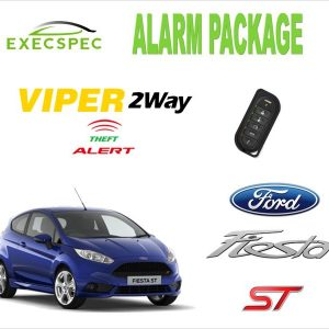 Ford Fiesta ST Alarm Security Package 2-Way Security/Alarm System van alarm package best alarm nottingham derby