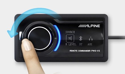Alpine PWD-X5 Underseat Subwoofer with DSP best car audio nottingham derby