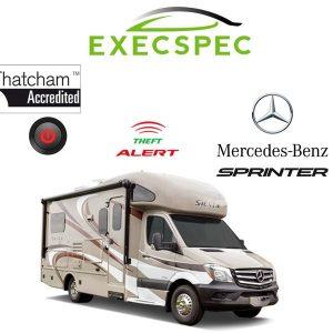 Mercedes Sprinter Motorhome Autowatch Alarm System van alarm package best alarm nottingham derby