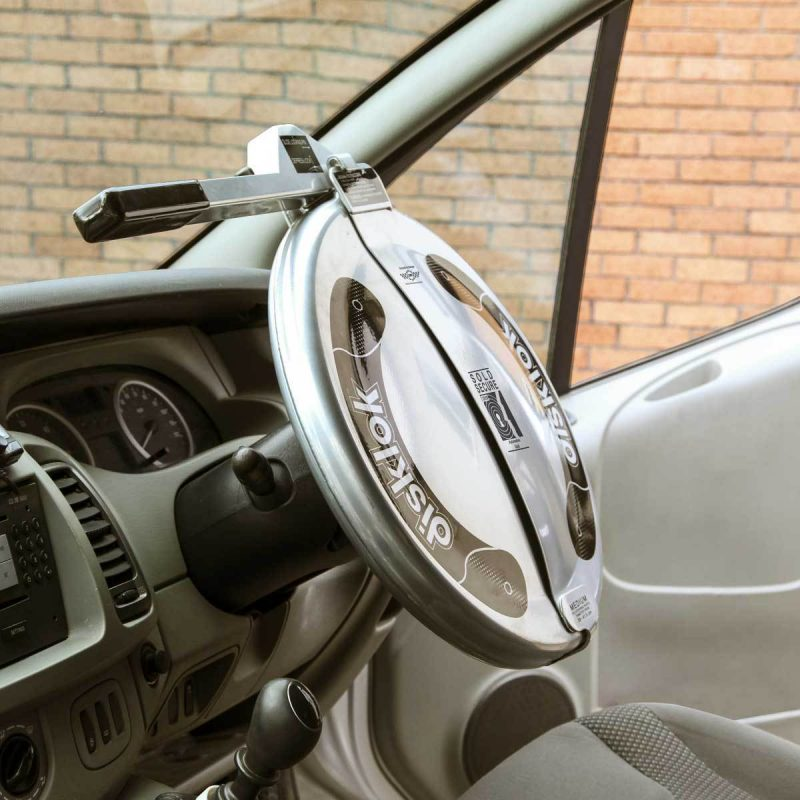 The Disklok lock range caters for all cars, motor homes and light commercial vehicles with 3 different size options.