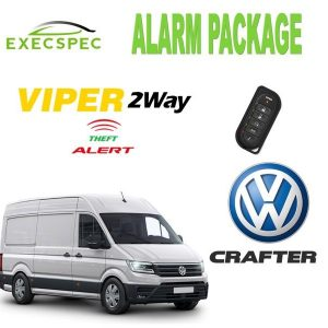 Volkswagen Crafter Alarm Security Package 2-Way Security/Alarm System van alarm package best alarm nottingham derby