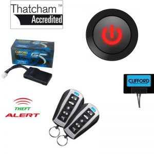 Clifford 650mkII - Thatcham Cat1 Alarm - Best Car Alarm Nottingham - Best Car Alarm Derby - Best Car Alarm Leicester