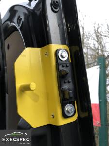Ford Transit Custom Thrust Pin - Best Van Security Nottingham Derby Leicester - Best Ford Transit Security Nottingham Derby Leicester