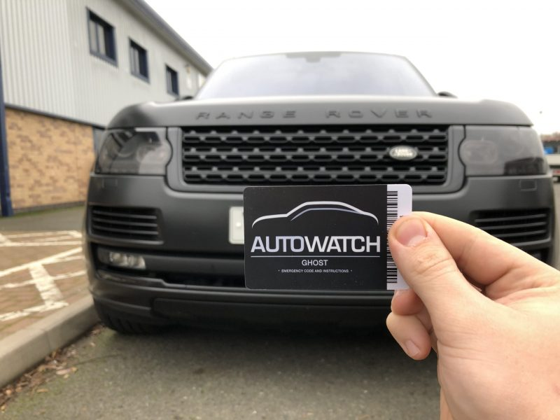 Range Rover Autowatch Ghost