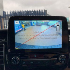 FORD REVERSE CAMERA INPUT SYNC 3