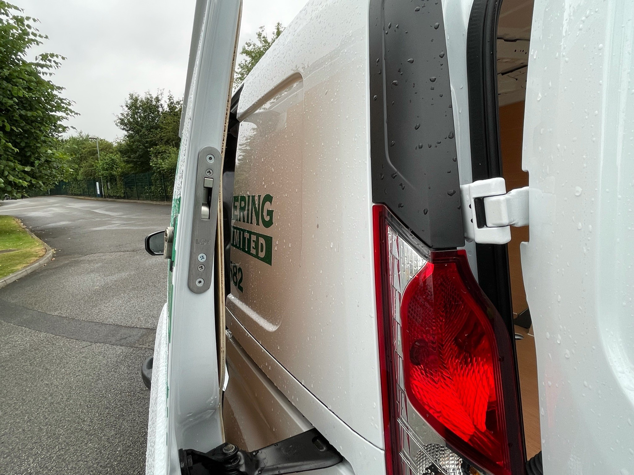 Ford Transit Connect Security Upgrade Nottingham Derby