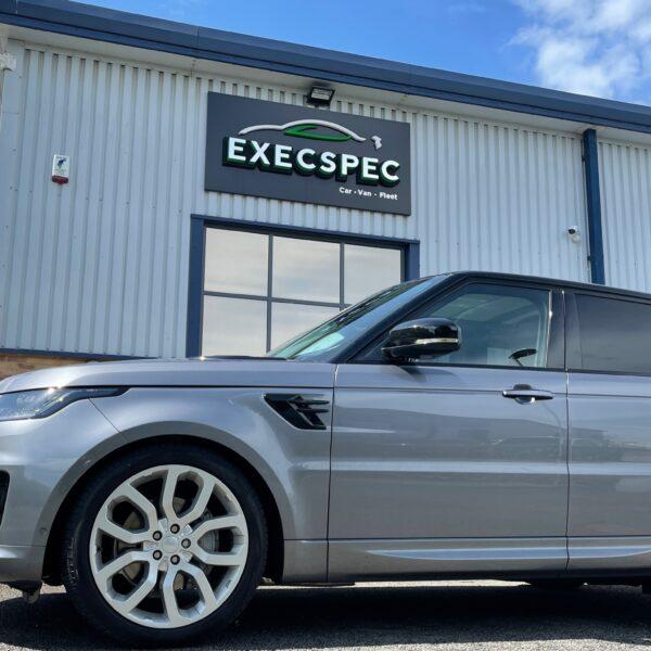 Range Rover Sport Front & Rear Dash Cam Nottingham Derby