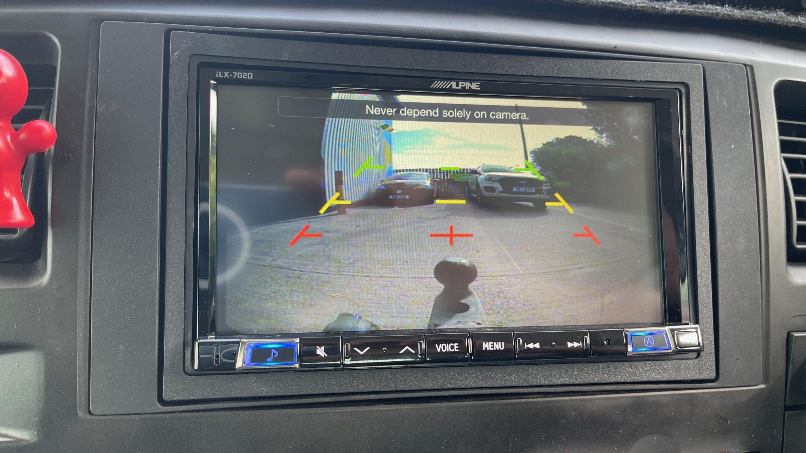 Ford Transit Tipper Headunit Reverse Camera Nottingham Derby